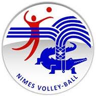 Logo Nîmes Volley-Ball