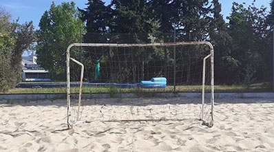 terrain de beach soccer
