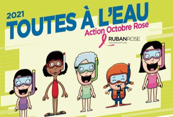 Toutes à l'eau 2021 - Action Octobre Rose